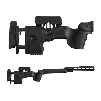 Grs Riflestocks Savage 10/12 Sa Warg Stocks - Warg Savage 10/12 Sa, Bolt Rel. Side Fcp, Black