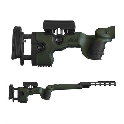 Grs Riflestocks Remington 700 Bdl Sa Warg Stocks - Remington 700 Bdl Sa Warg Stock Green