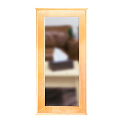 Tactical Walls 1440 Hinged Mid-Length Concealment Mirror - 1440 Hinged Mid-Length Mirror W/Inserts Early American