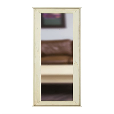 Tactical Walls 1440 Hinged Mid-Length Concealment Mirror - 1440 Hinged Mid-Length Mirror W/Safe Raw