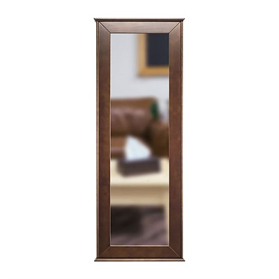 Tactical Walls 1450 Full Length Concealment Mirror - Full Length Mirror, Cherry