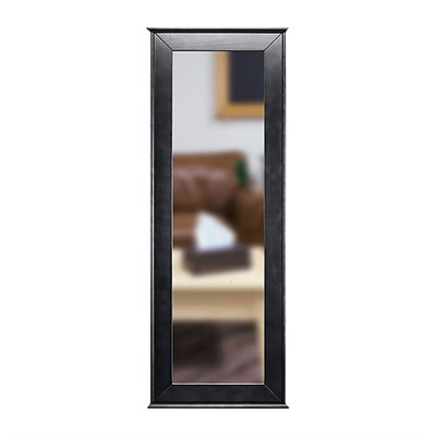 Tactical Walls 1450 Full Length Concealment Mirror - Full Length Mirror, Black