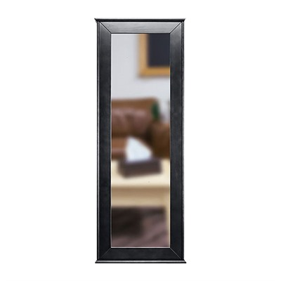 Tactical Walls 1450 Full Length Concealment Mirror - Full Length Mirror With Safe, Black