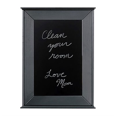Tactical Walls 1420 Sliding Concealment Chalkboard - 1420 Sliding Concealment Chalkboard Black