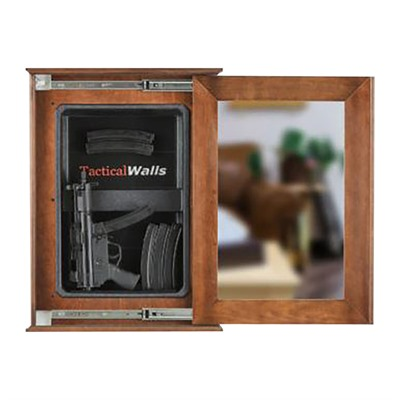 Tactical Walls 1420 Sliding Concealment Chalkboard - 1420 Sliding Concealment Chalkboard Cherry