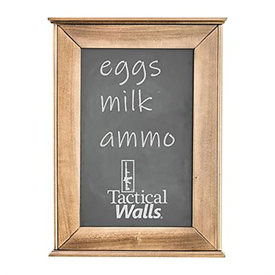 Tactical Walls 1420 Chalkboard Concealment Safe - 1420 Chalkboard Concealment Safe Dutch Walnut