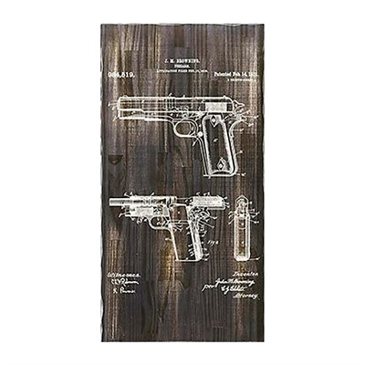 Tactical Walls Concealment Art 1911 - Concealment Art 1911 Charcoal