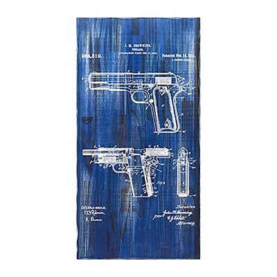Tactical Walls Concealment Art 1911 - Concealment Art 1911 Blueprint