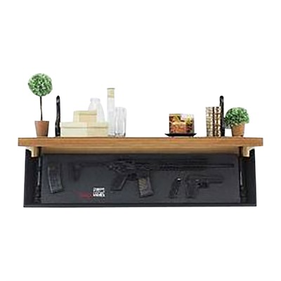 Tactical Walls 1242 Rls Rifle Concealment Shelf - 1242 Rls Rifle Concealment Shelf Early American/Black