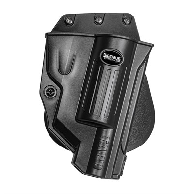 Fobus Holster Evolution Holster Right Hand Paddle - Taurus Judge Polymer Frame Evolution Paddle Holster Black