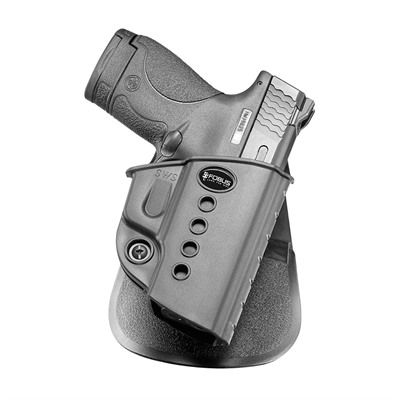 Fobus Holster Evolution Holster Right Hand Paddle - S&W M&P Shield 9mm & .40 Evolution Paddle Holster Black
