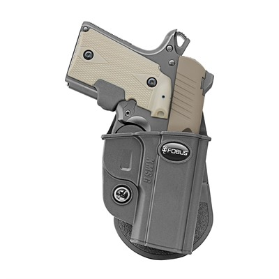 Fobus Holster Evolution Holster Right Hand Paddle - Kimber Micro, Sig Sauer P238 Evolution Paddle Holster Blk