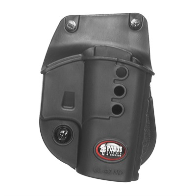 Fobus Holster Evolution Holster Right Hand Paddle - Glock 42 Evolution Paddle Holster Black