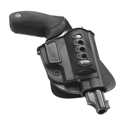 Fobus Holster Evolution Holster Right Hand Paddle - Taurus Judge Steel Frame Evolution Paddle Holster Black
