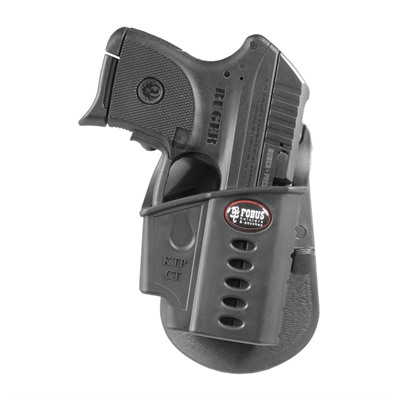 Fobus Holster Standard Holster Paddle Right Hand - Ruger Lcp Ii Standard Paddle Holster Black
