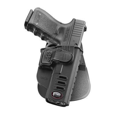 Fobus Holster Ch Series Holster Paddle Right Hand - Glock 17, Glock 19 Ch Series Paddle Holster Black