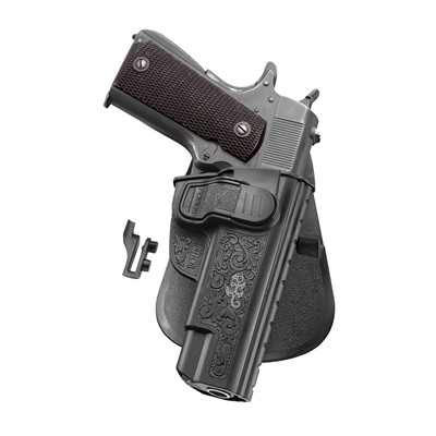 Fobus Holster Ch Series Holster Paddle Right Hand - 1911 Style Pistols W/Out Rail Ch Series Paddle Holster Blk