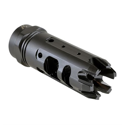Strike Industries King Comp With Dual Chamber Design To Reduced Recoil - 223/5.56 King Comp 1/2-28 Black