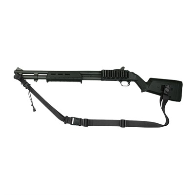 Specter Gear Mossberg 590/590a1 Tactical Slings W/ Magpul Sga Stock - Moss 590 Raider 2 Pt Tac Sling For Magpul Sga Stock Blk
