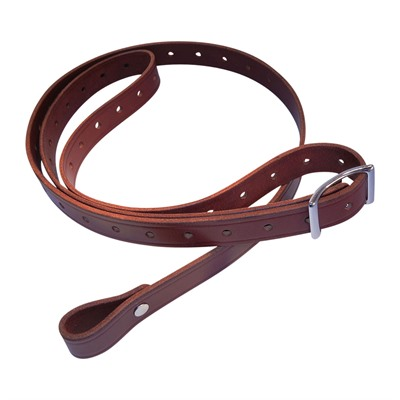 Andys Leather Rhodesian Slings - 1   Rhodesian Slg W/ Stainless Steel Hardware Swiv Chestnut