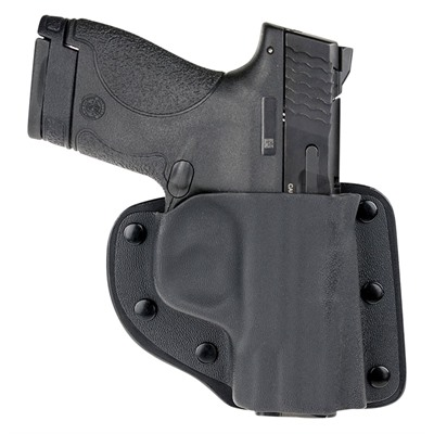 Crossbreed Holsters Holsters For Belly Bands - S&W Bg380 W/Factory Laser Modular Holster Rh Black