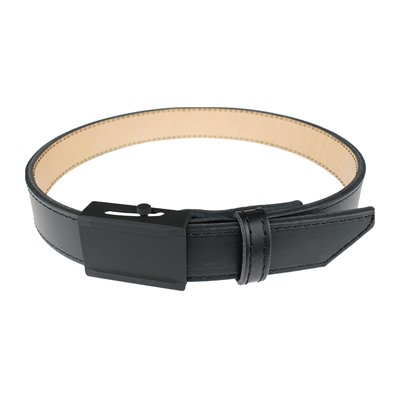 Crossbreed Holsters Men's Crossover Belts - 40   Crossover Belt Black W/ Black Buckle & Black Thread