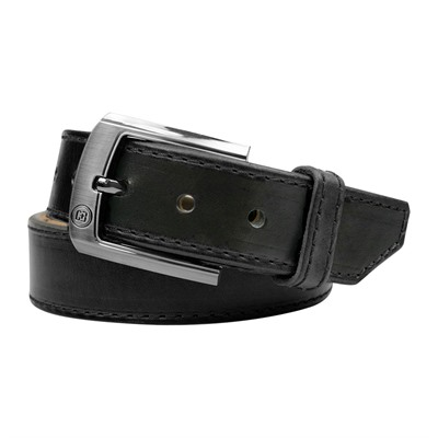 Crossbreed Holsters Men's Executive Belts - 48   Executive Belt Black 1 1/4   W/ Gloss Buckle