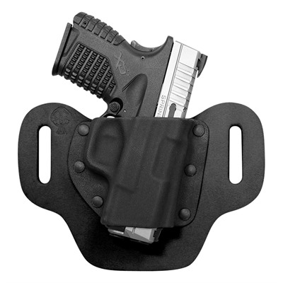 Crossbreed Holsters Dropslide Holsters - Ruger Sr9, Sr40, Sr45 Dropslide Holster Rh Black