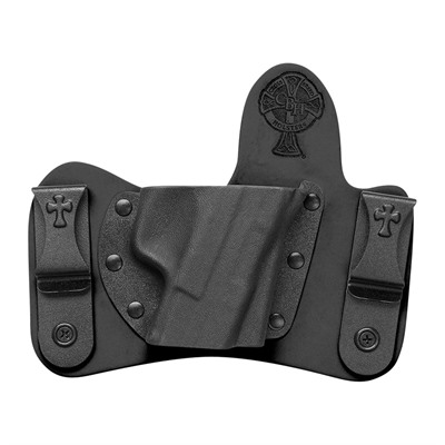 Crossbreed Holsters Minituck Holsters - S&W M&P Shield M2.0 9/40 W/Laser Minituck Holster Rh Black