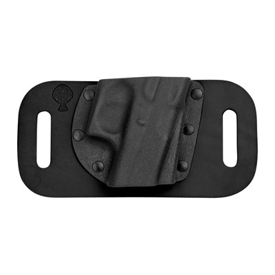 Crossbreed Holsters Snapslide Holsters - S&W J Frame Airweight Snapslide Holster Rh Black