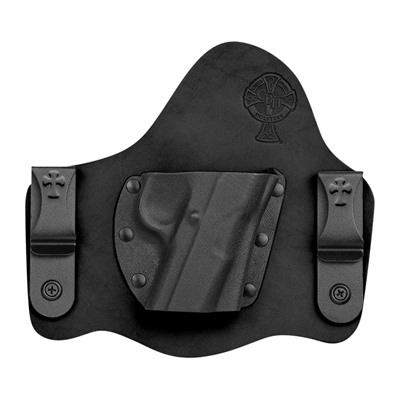 Crossbreed Holsters Supertuck Holsters - S&W M&P Shield M2.0 9/40 W/ Laser Supertuck Holster Rh Blk
