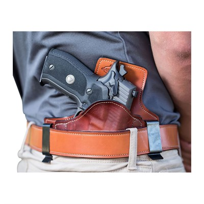 Edgewood Shooting Bags 2 Clip Inside The Waistband Holsters - 2 Clip Iwb Smith & Wesson J-Frame Revolver Right Hand