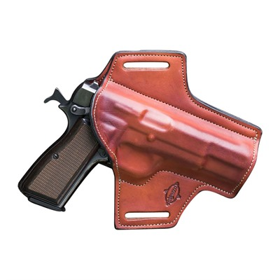 Edgewood Shooting Bags Full Size Outside The Waistband Holsters - Full Size S&W Model 686 4  Revolver .357 Mag Right Hand