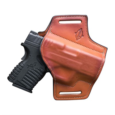 Edgewood Shooting Bags Compact Outside The Waistband Holsters - Owb Compact Glock G43 Single Stack 9mm Right Hand