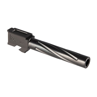 Rival Arms Match Grade Twisted Standard Barrel For Glock 17 - Match Grade Twisted Std Barrel For Glock 17 G3/4 Gray