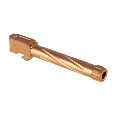 Rival Arms Match Grade Twisted Threaded Barrel For Glock 17 - Match Grade Twisted Threaded Bbl For Glock 17 G3/4 Bronze