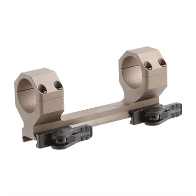 American Defense Manufacturing Delta Scope Mount - 30mm 20 Moa Scope Mount, Flat Dark Earth