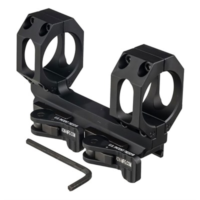 American Defense Manufacturing Recon-S No Offset Scope Mount - 35mm 30 Moa Scope Mount, Black