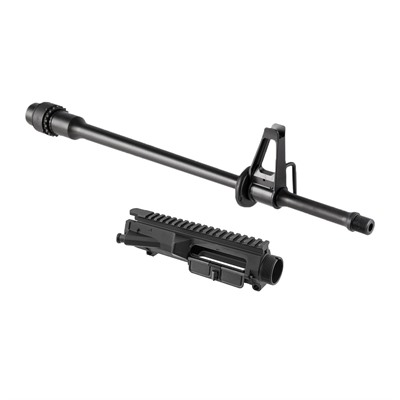 Brownells Ar .308 M5 Upper Receivers & Lightweight Barrels W/ Fsb - M5 Upper Receiver W/ Lw 20   Rifle Barrel W/ Fsb
