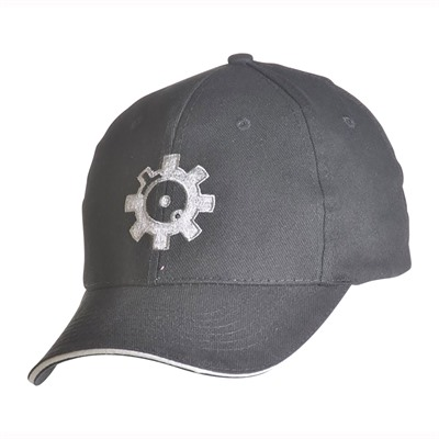 Ar15.Com Headware - Bolt Face Logo Stretch Fit Hat Black M/L