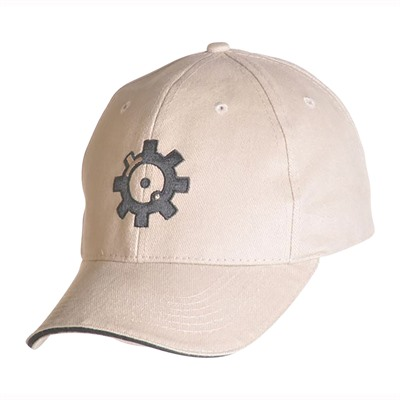 Ar15.Com Headware - Bolt Face Logo Hat Velcro Closure Tan