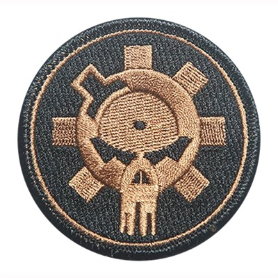 Ar15.Com Patches - Patch, Bfl Skull, Tan, Embroidered, Velcro