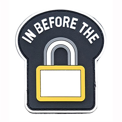 Ar15.Com Patches - In Before The Lock Pvc Patch