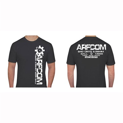 Ar15.Com 556 T-Shirts - 556 Design T-Shirt Gray Small