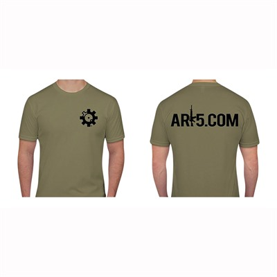 Ar15.Com Rifle T-Shirts - Rifle T-Shirts Light Olive Large