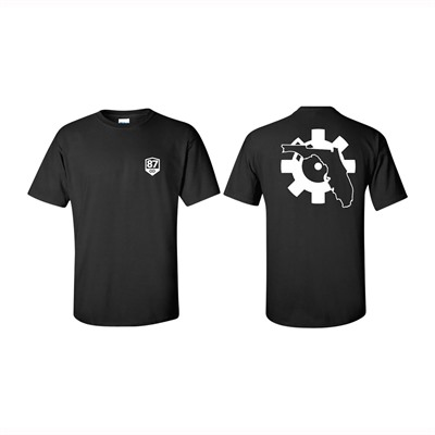 Ar15.Com Florida Bolt Face Logo T-Shirts - Htf Florida T-Shirt Black Small