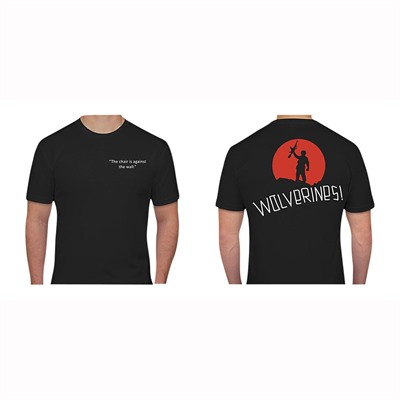 Ar15.Com Wolverines T-Shirts - Wolverines T-Shirt Black 2x-Large