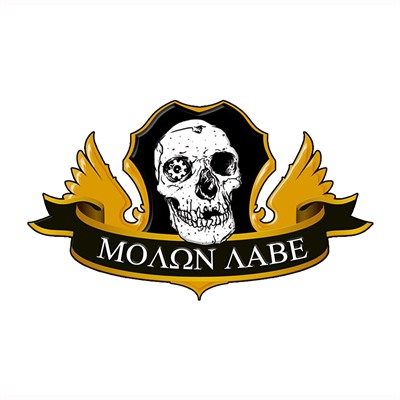 Ar15.Com Stickers - Ar15.Com Molon Labe Sticker