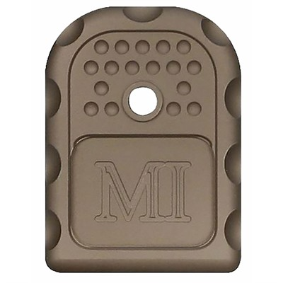 Midwest Industries Magazine Base Plates For Glock9mm/ .40s&W/ .357 Sig - Magazine Base Plate For Glock 9/.40/.357 Fde