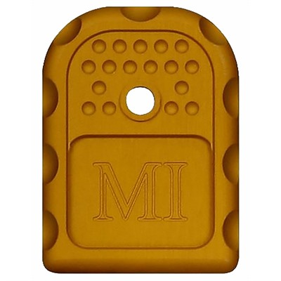 Midwest Industries Magazine Base Plates For Glock9mm/ .40s&W/ .357 Sig - Magazine Base Plate For Glock 9/.40/.357 Orange
